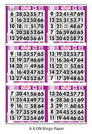How to Play | Bingo King • Trade Products